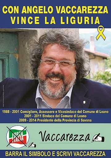 Liguria - Elezioni regionali del 31 Maggio 2015