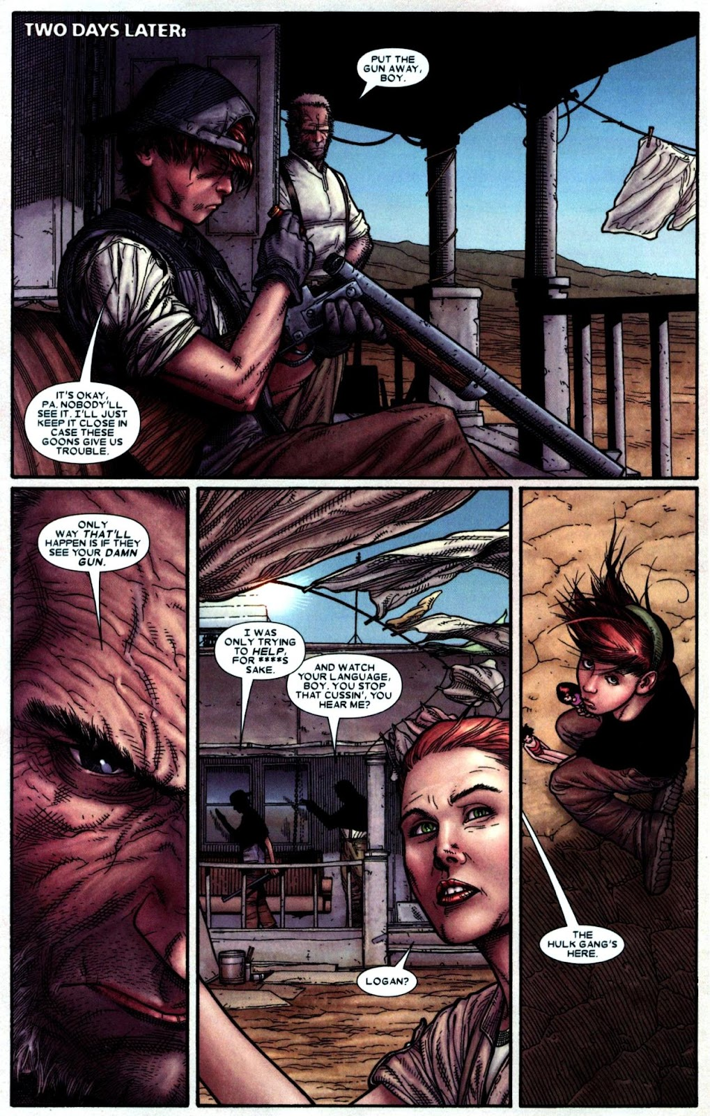 Read online Wolverine (2003) comic -  Issue #66 - 10