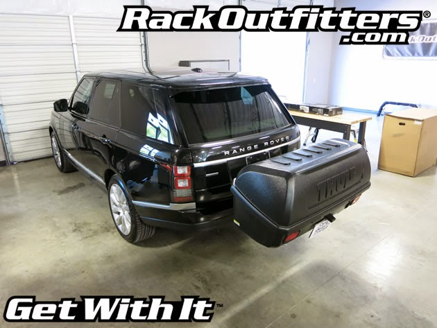 Land Rover Range Rover With Thule 665c Transporter Combi