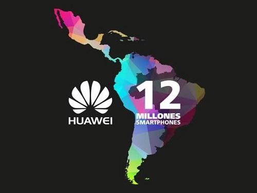 VENTAS DE HUAWEI EN 2015