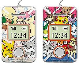 Pokemon Decoration Sticker for 005Z part 3 Softbank
