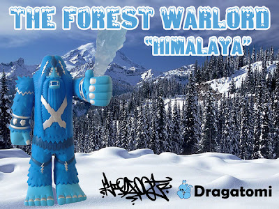Dragatomi Exclusive Himalaya Forest Warlord Vinyl Figure by Bigfoot One