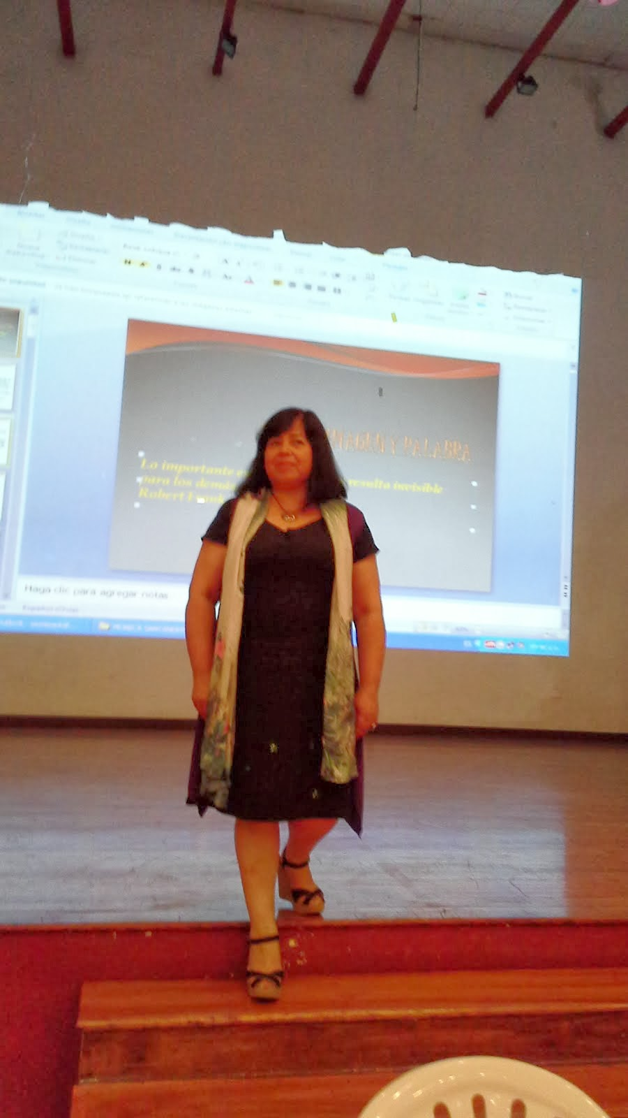 En el escenario del Bellas Artes Lima-Perú  lugar lleno de energías