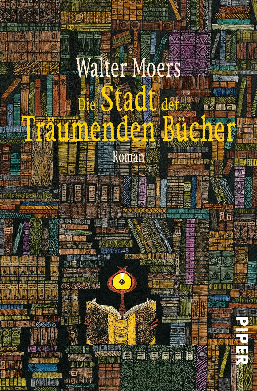http://www.amazon.de/Die-Stadt-Tr%C3%A4umenden-B%C3%BCcher-Mythenmetz/dp/3492045499/ref=sr_1_1?s=books&ie=UTF8&qid=1389901564&sr=1-1&keywords=die+stadt+der+tr%C3%A4umenden+b%C3%BCcher