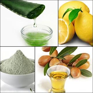 limpiador natural de arcilla y limón
