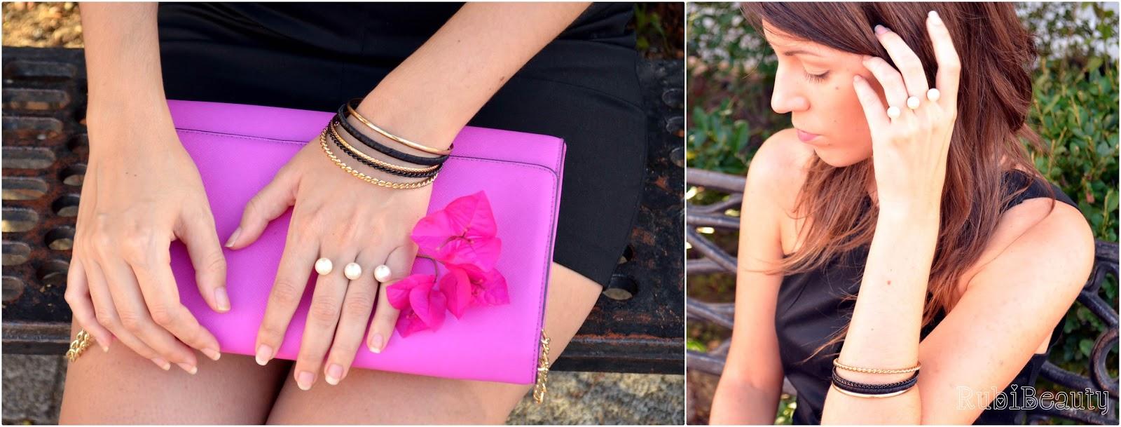 rubibeauty LBD Little Black Dress Vestido Negro Outfit OOTD