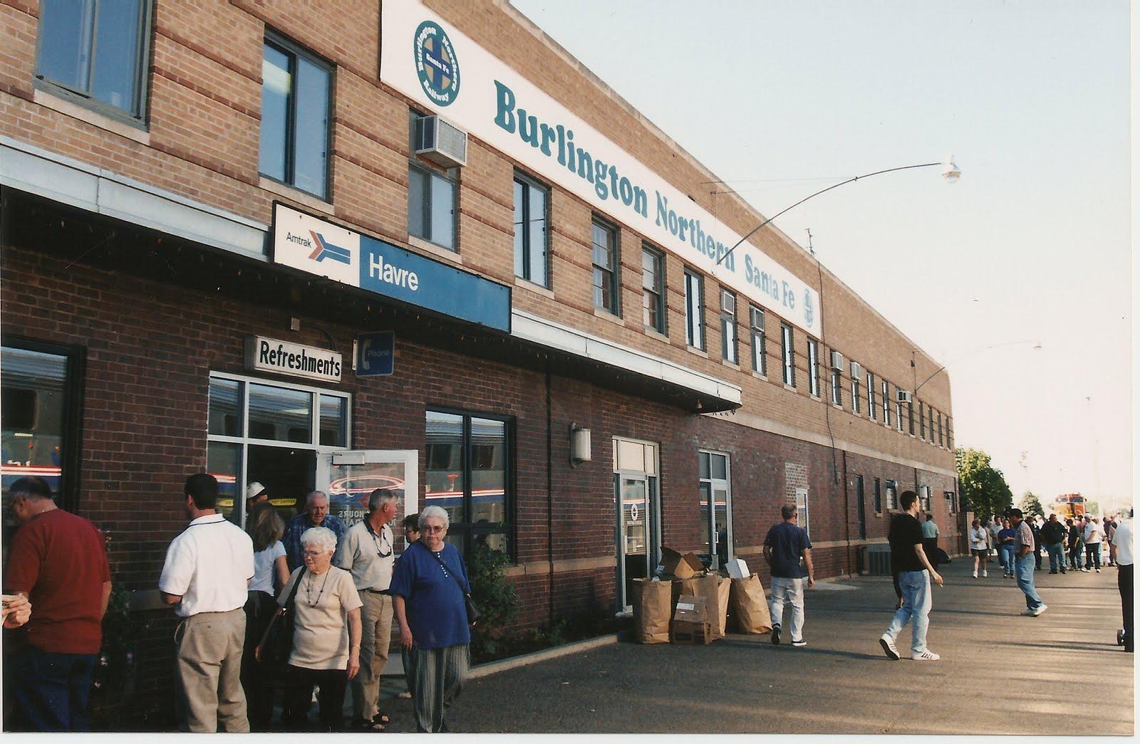 Railway stations usa havre havre amtrak station montana usa havre havre amtrak station montana sciox Choice Image