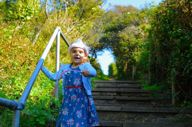 Fairy Princess Girl in woods