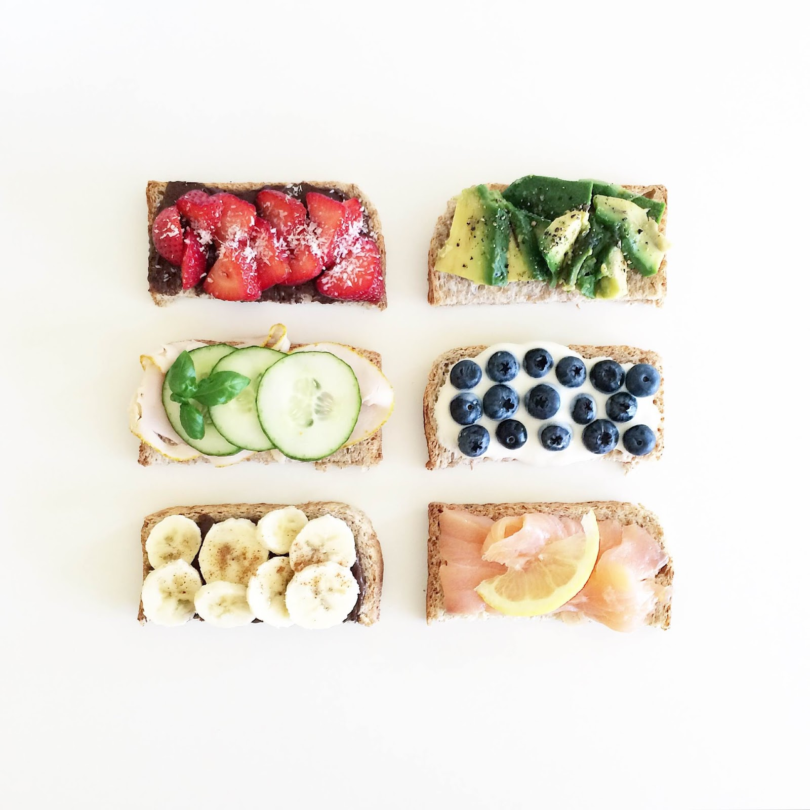 kristjaana mere healthy breakfast toast ideas