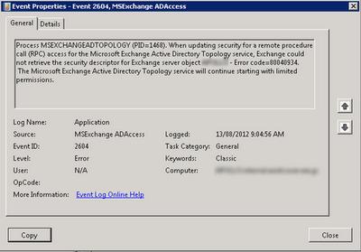 Active Directory in Exchange organizations | Microsoft Docs