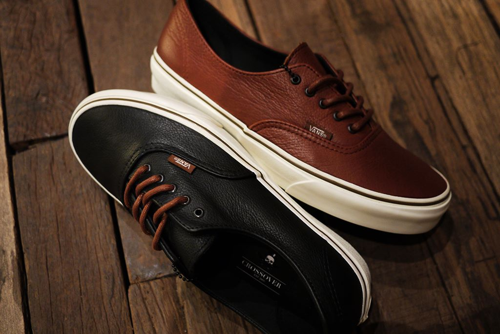 vans vulcanised 106 black leather