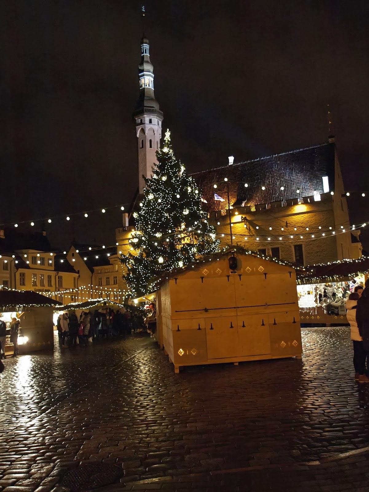 Экскурсии по новогоднему Таллинну. Рекомендации туристам.