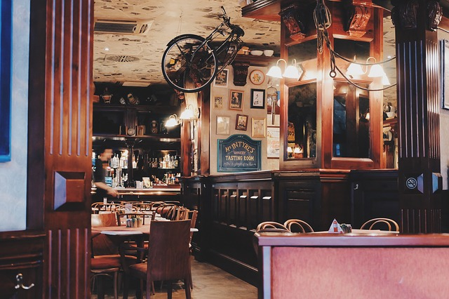 Desain Interior Cafe Klasik Ala Orang Barat