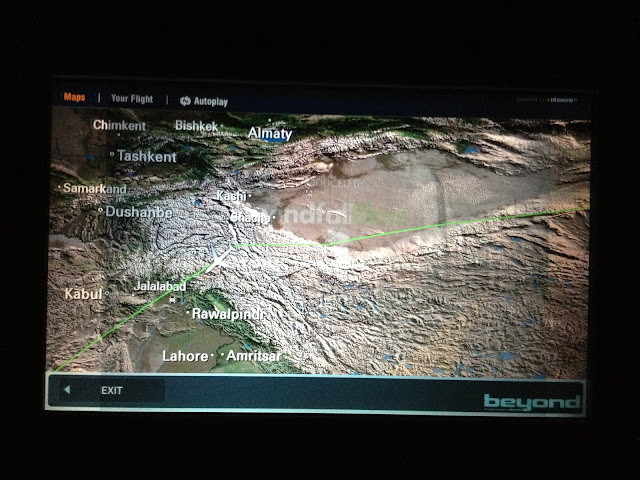 Flights Insider: First time in Africa! [Korean Air] KE 959 ICN-NBO ...