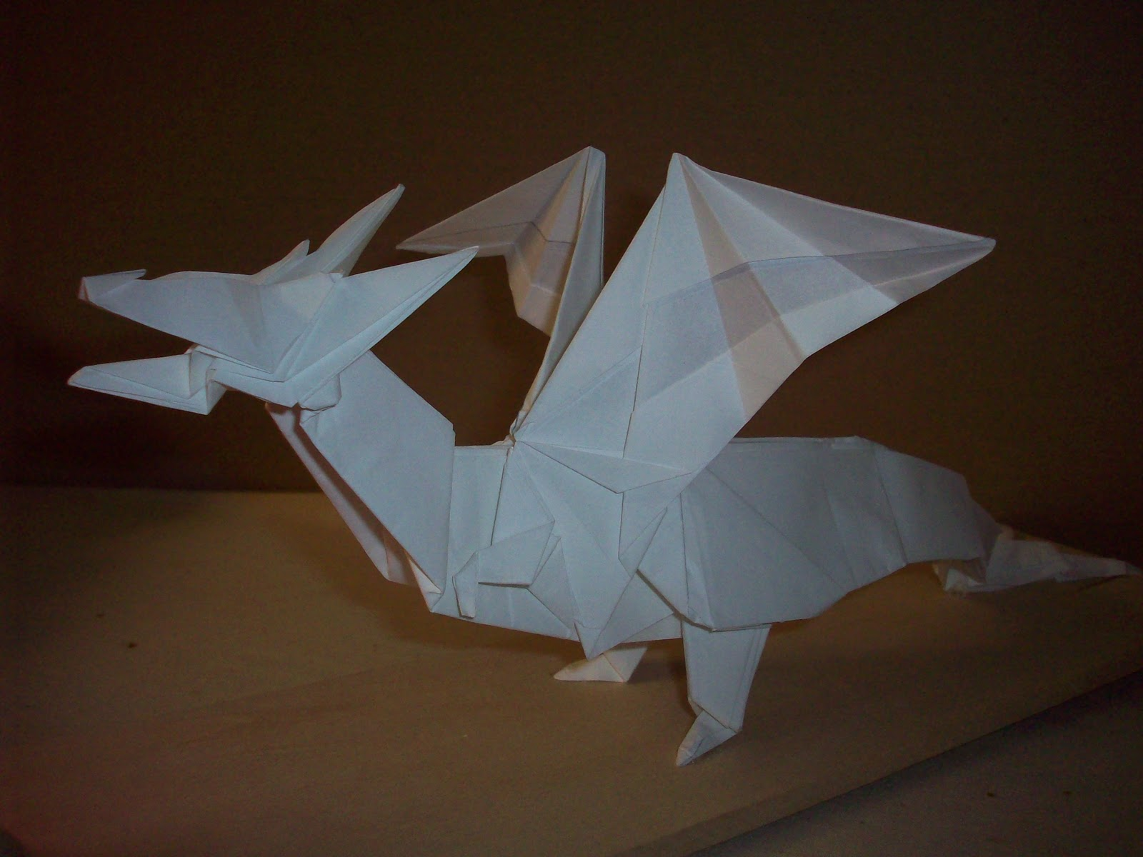 Doodle-ee-doo: Origami Dragon - photo#47