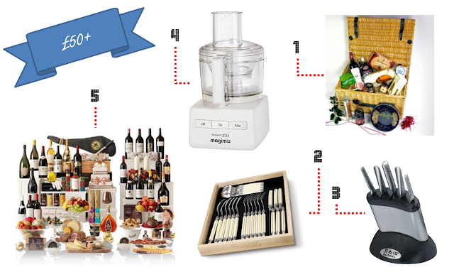 Festive Foodie Gifts for £50 and up