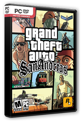 Grand Theft Auto San Andreas PC Games Download 3.5GB
