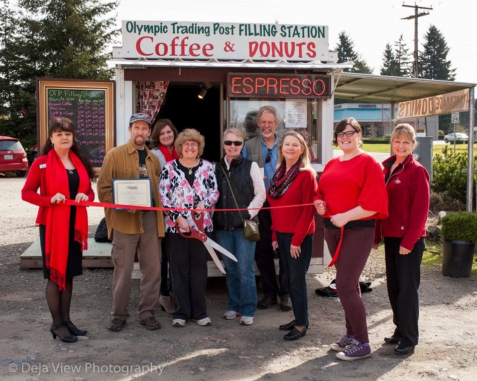 Olympic Trading Post Ribbon Cutting Ceremony