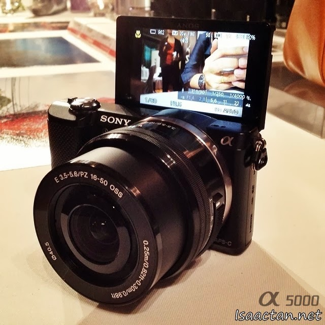 Introducing the all-new Sony Alpha 5000 digital camera