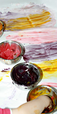 Homemade Scented Finger Paint