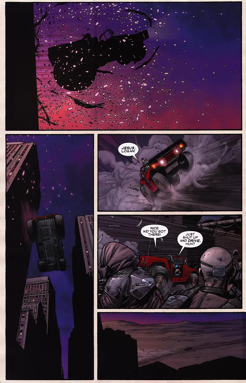 Read online Wolverine (2003) comic -  Issue #69 - 6