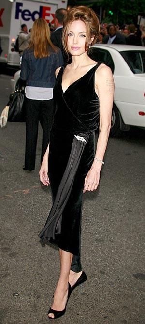 Angelina Jolie Golden Globes 11. Angelina Jolie Surprise Golden