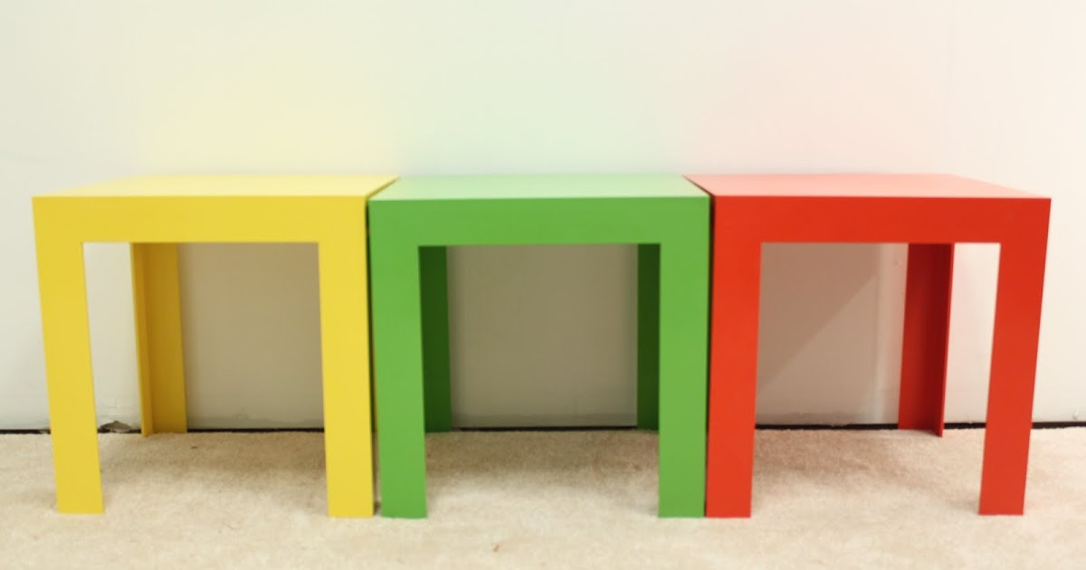 Motel space age pop art side table coffee table