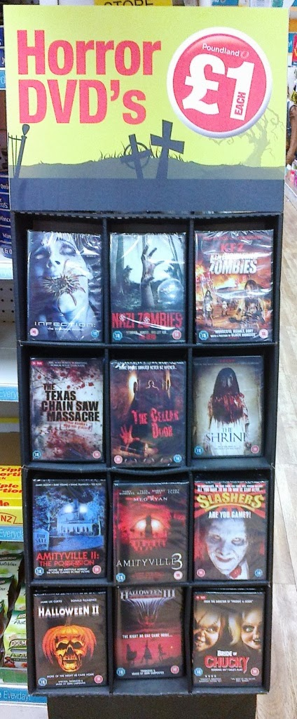 asda decorations halloween delights vinces halloween dark dvds halloween poundlands