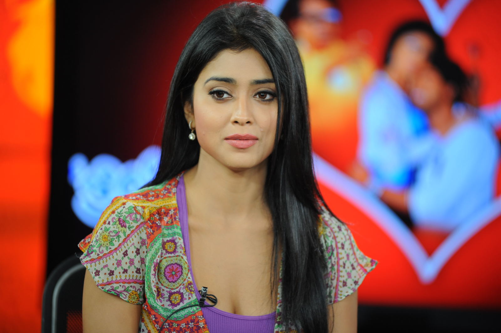 Shriya saran Chat Show - Gorgeous Shriya saran at chat show 