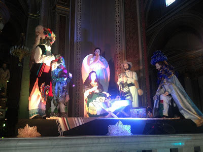 The Nativity made in Patzcuaro that is now at the Vatican
