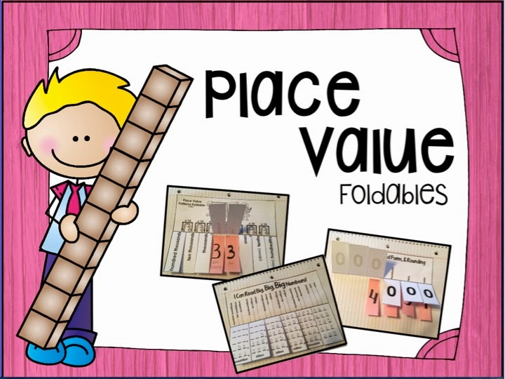 Tales from a Fourth Grade MathNut: Place Value Foldables