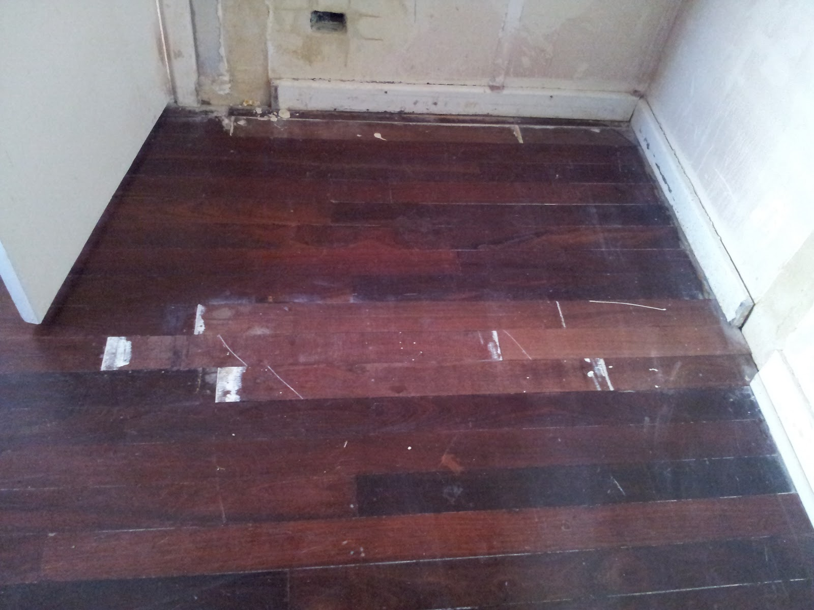 Jarrah Jungle Restoring The Floorboards Before And After