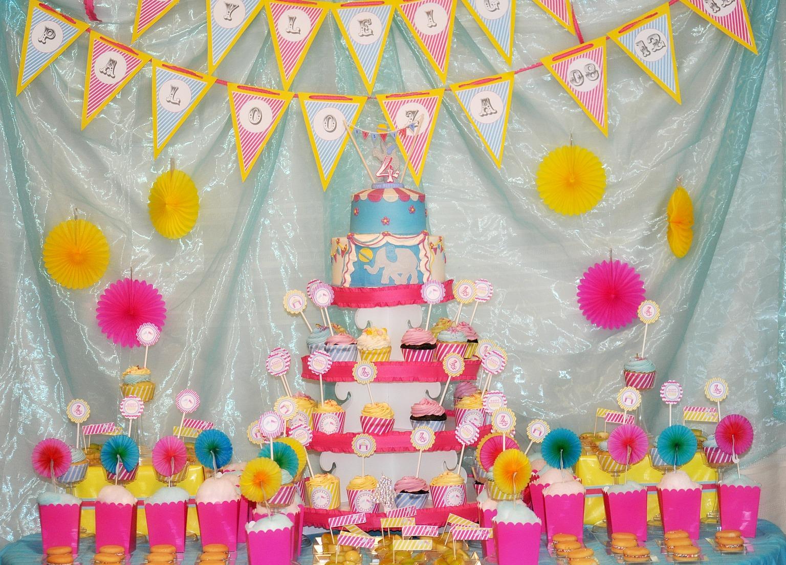 Украсить день рождения ребенка своими руками
