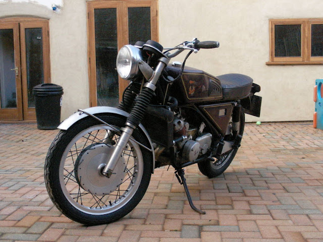 Silk-Scott Special Motorbike