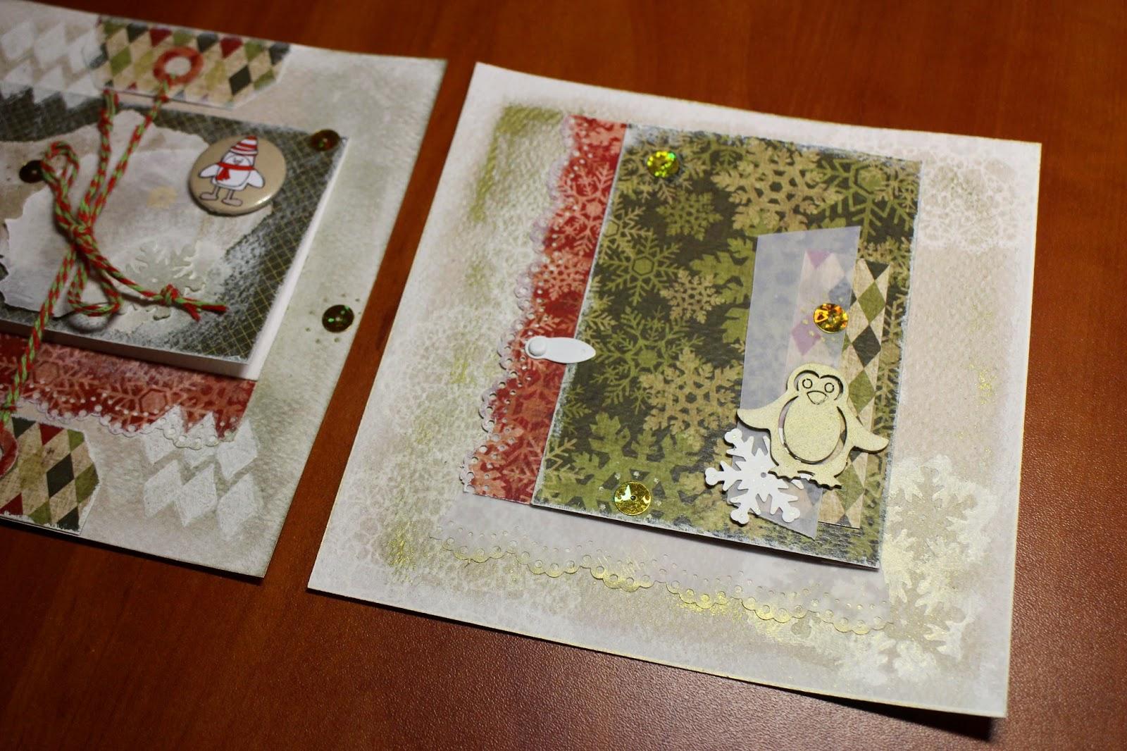 album New Year Christmas winter album scrapbooking скрапбукинг зима альбом новый год зимний снег hamster-sensey