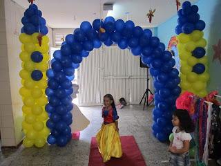 PRINCESA DISNEY BLANCA NIEVES DECORACION FIESTAS INFANTILES