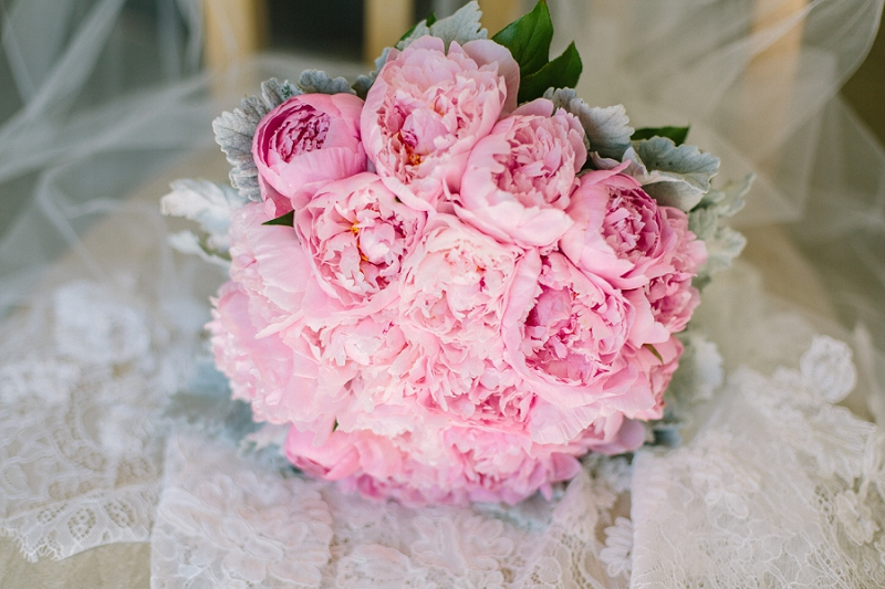 boca raton south florida wedding photographer erica J photography peony bouquet