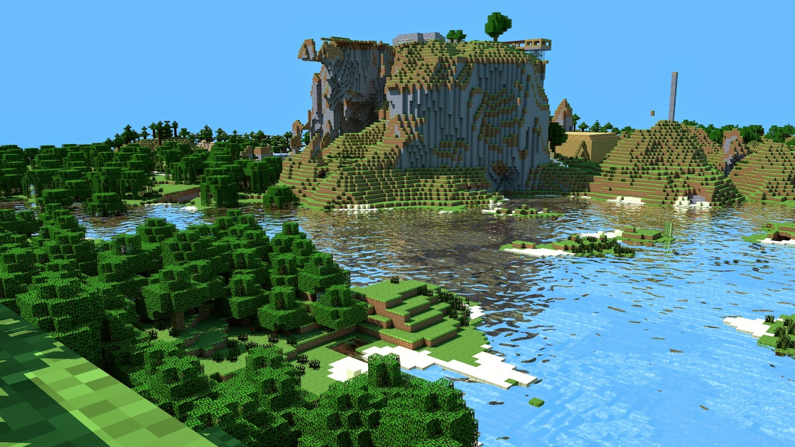 minecraft 1920x1200 wallpaper high - photo #9