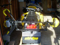 Snowmobile Auger Rack1