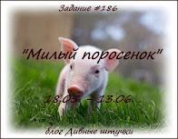 """""""Милый поросенок"""" до 13.06"""