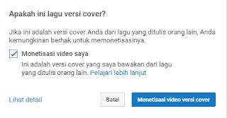 Cover Lagu Di Youtube Untuk Di Uangkan