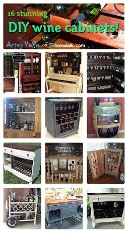 http://www.hometalk.com/b/2073103/wine-cabinets