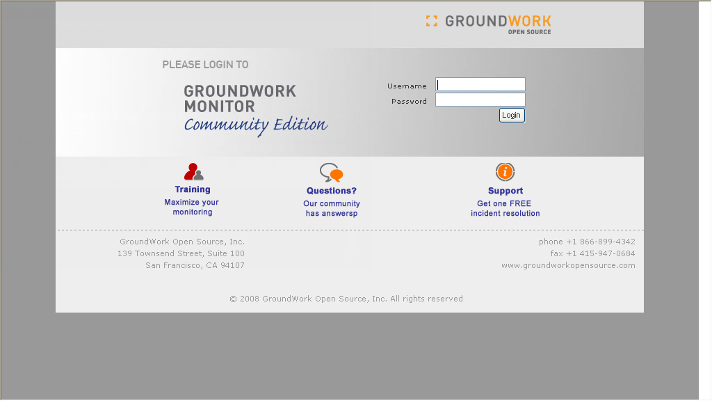 Tranhuuphuoc ground work open source centos Cao open source