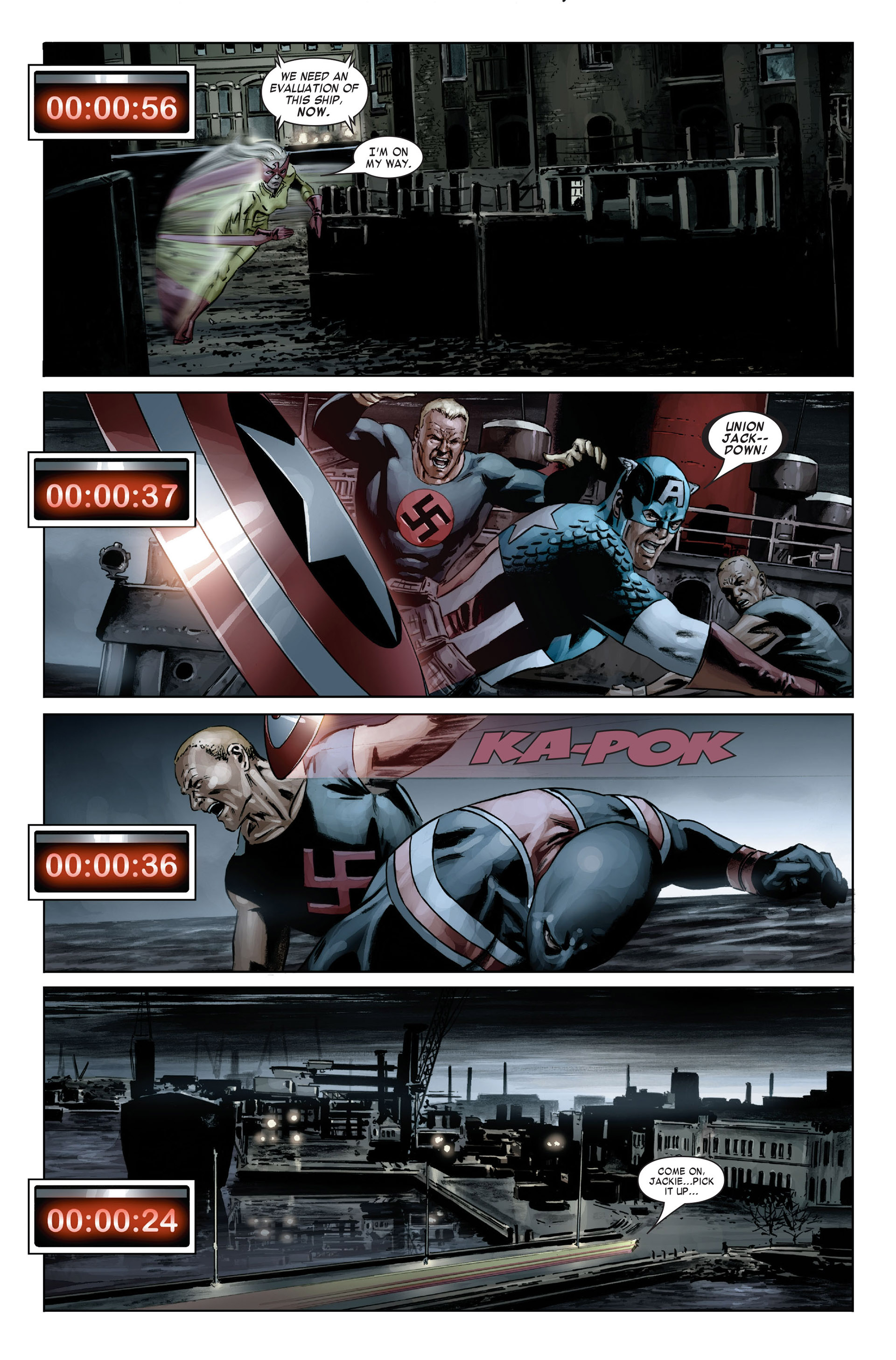 Captain America (2005) Issue #19 #19 - English 7