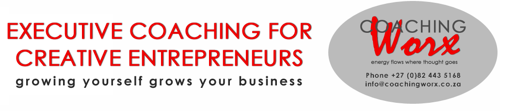 Executive Coaching for Creative Entrepreneurs. Growing yourself grows your business.