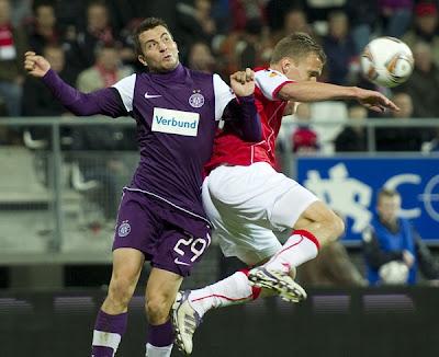 AZ Alkmaar 2 - 2 Austria Vienna (1)