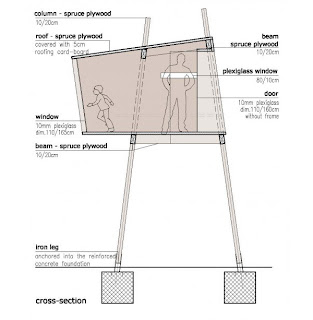 House plan designs standing tree house plan for Free treehouse blueprints
