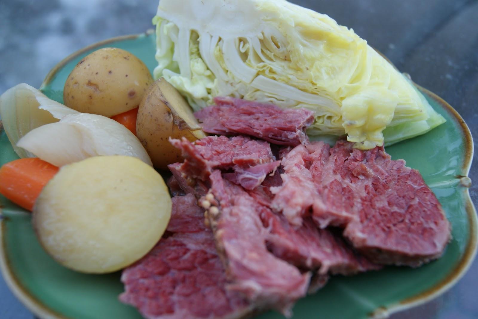 Crockpot Corned Beef & Cabbage