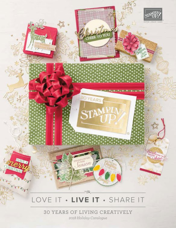 2018 Holiday Catalogue - Stampin' Up!