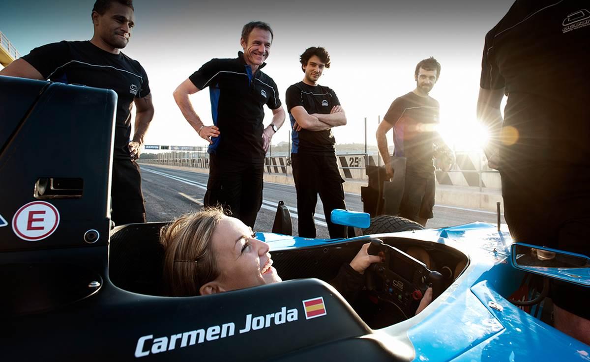 Carmen Jordá Lotus F1